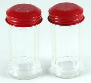 Retro Salt Pepper Set Classic Red Set Of 2