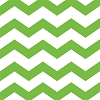 Chevron/Dots Cocktail Napkin - Lime Green (pk of 16)