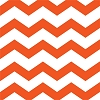Chevron/Dots Cocktail Napkin - Orange (pk of 16)