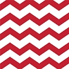 Chevron/Dots Beverage Napkin - Red (pk of 16)