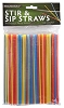 Stir & Sip Straws (150 pcs)