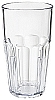 Plastic Paneled Beverage Tumbler 16 oz