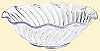 Plastic Scalloped Ice Cream Dish - 6oz
