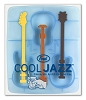 """Cool Jazz"" Unique Guitar Shaped Ice Stirrer"