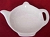 Porcelain Teapot Tea Bag Caddy