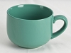 Jumbo Teal Coffee, Hot Cocoa, Tea Mug 24oz