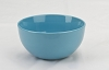 Large Turquoise Ice Cream Sundae Bowl - 18 oz