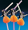 Hula Girl Straws (1 dz)