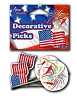 Patriotic Beverage Picks (24pcs)