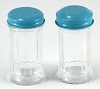 Vintage Style Salt & Pepper Set - Diner Blue (set of 2)