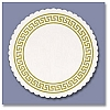 Classical Greek Bar Coaster 3 3/8
