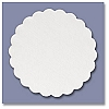 White Embossed Drink Coaster 4