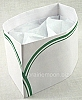 Soda Jerk Paper Hat - Green Stripe (20 pack)