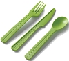Disposable Combo Cutlery - Green (8 sets)