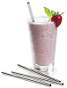 Large Frozen Drink Straws - Stainless Steel