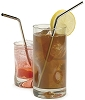Stainless Steel Drink Straws (set of 4)