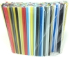 Jumbo Soda Straws 7.75 x .25 Mixed