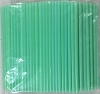 Jumbo Soda Straws 7.75 x .25 Mint