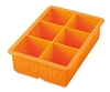 KING Cube Ice Tray - Orange Peel