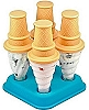 Ice Cream Pop Molds (Set of 4)