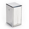 Napkin Dispenser - Tall-Fold - Stainless Steel