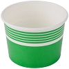 Green Paper Frozen Yogurt / Sundae Cup 12 oz