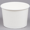 White Paper Frozen Yogurt / Ice Cream Bowl 12 oz