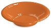 Ice Cream Party Dish - Orange - 12 oz (pack of 20)