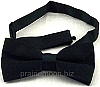 Soda Jerk Bow Tie - Black  - Banded