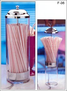 Old Fashioned Straw Dispenser