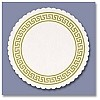 "Classical Greek Bar Coaster 3 3/8"" (100 pcs)"