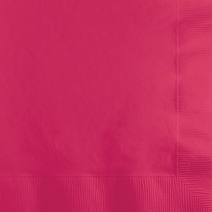 Cocktail Napkin - Hot Pink (pk of 50)