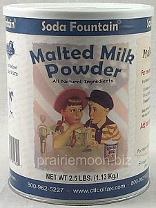 Wholesale Malted Milkshake Powder (case of 6 - 2.5 lb cans)
