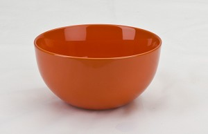 Large Orange Ice Cream Sundae Bowl - 18 oz