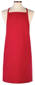 Soda Jerk Bib Apron - Red